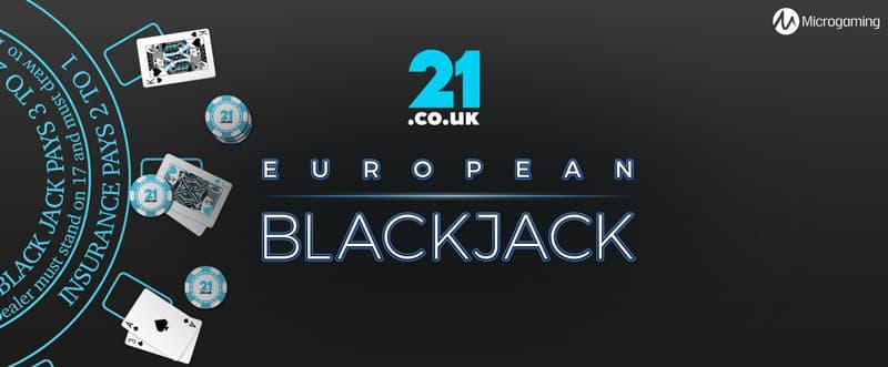 european blackjack online slot