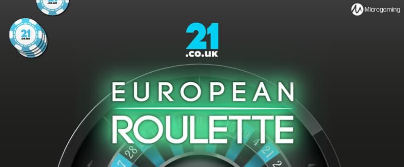 european roulette online slot