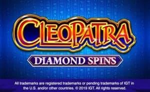 cleopatra diamond spins online slot